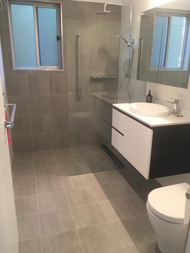 Newcastle Bathroom Tiling
